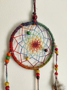 "4"" Hemp Dreamcatcher"
