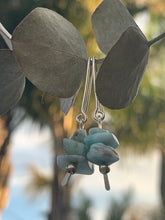 Load image into Gallery viewer, Larimar Drop Earrings