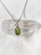 Load image into Gallery viewer, Small Rough Crystal Sterling Silver Pendants