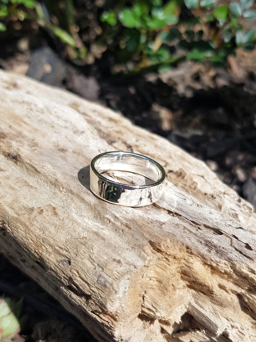 6mm Silver Band