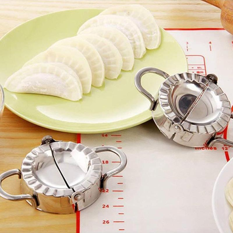 Set Of 2 Dumpling Moulds