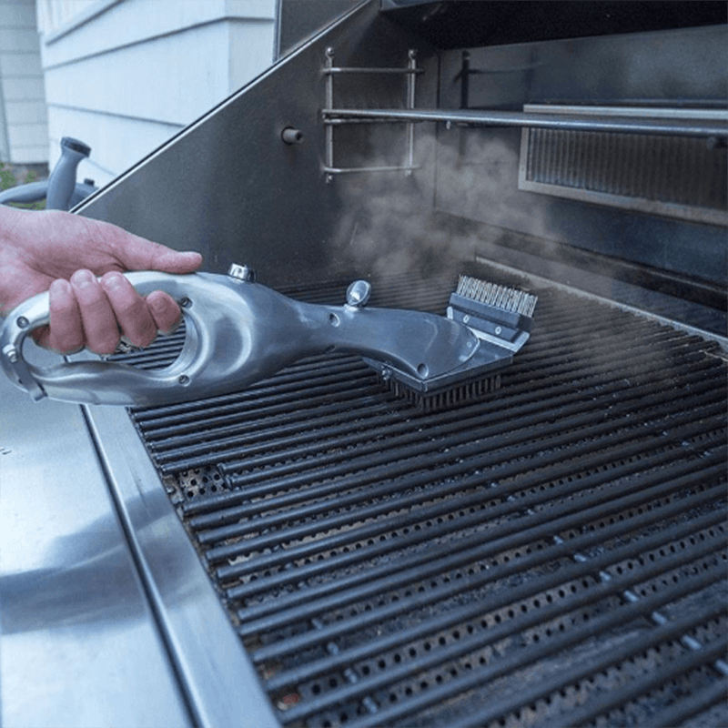 Professional BBQ Vapor Cleaner Brush