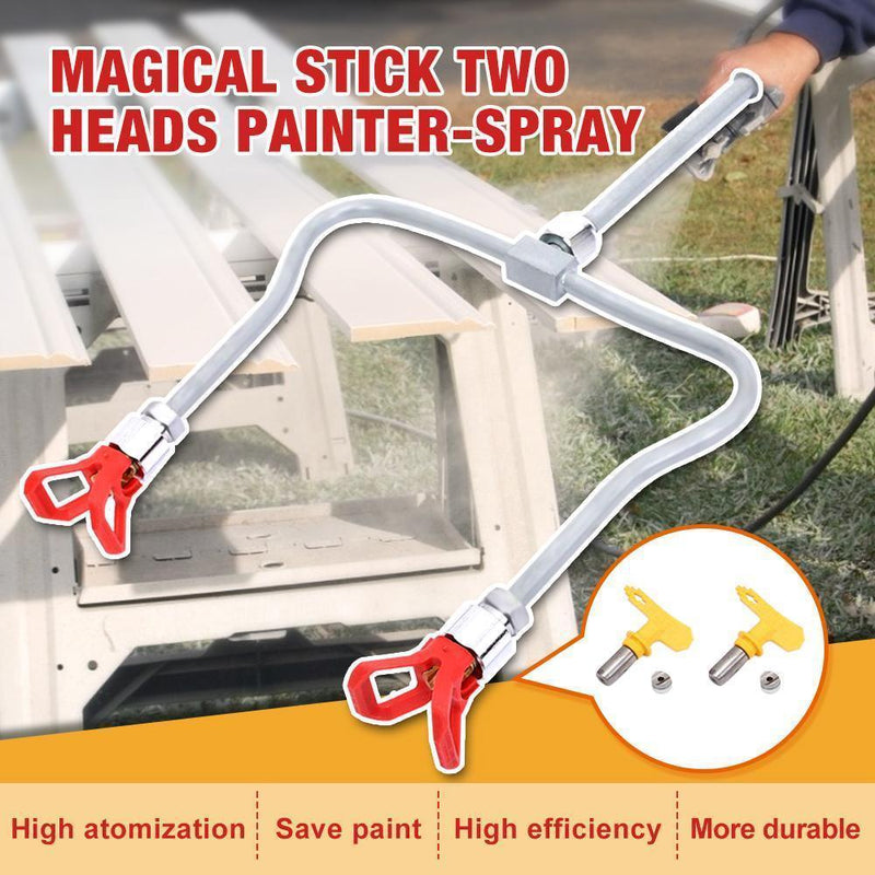 Hirundo Magical Stick Two heads Painter-Spray
