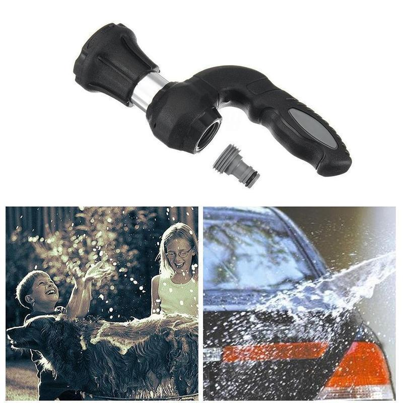 High pressure nozzle for car garden tool
