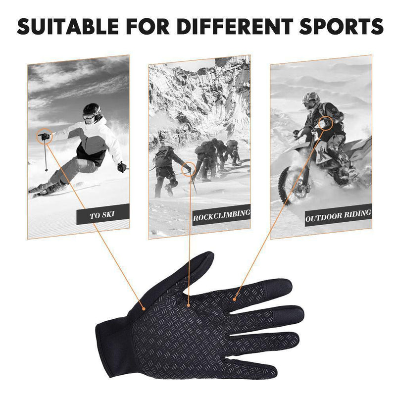 Warm Thermal Gloves Cycling Running Driving Gloves