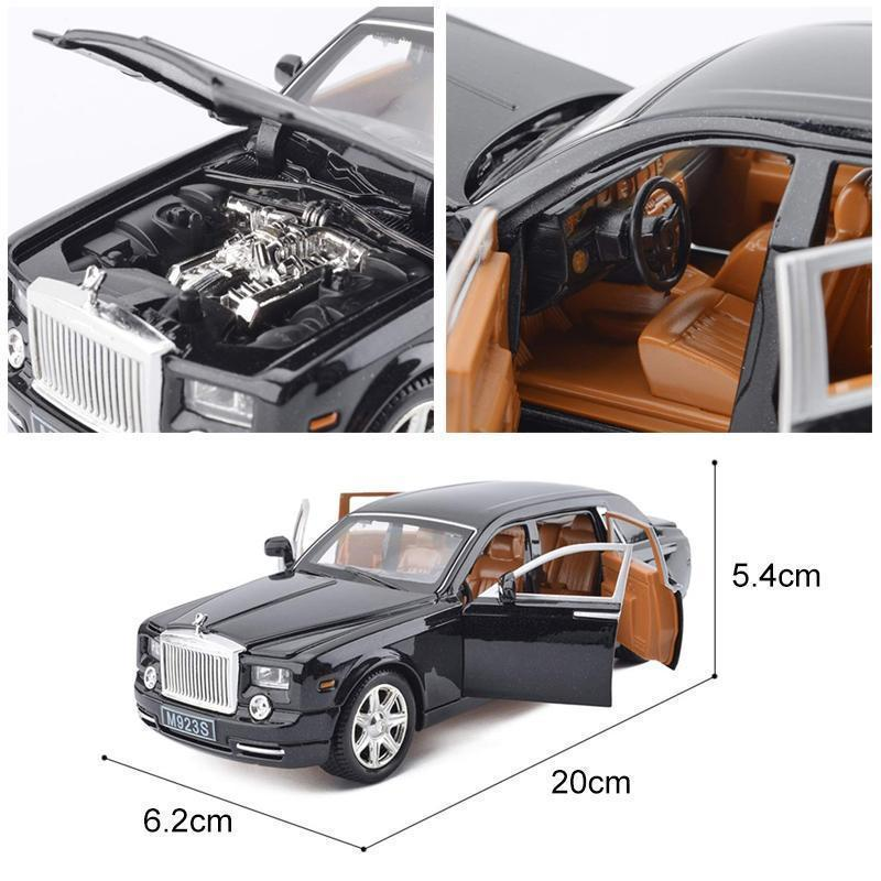 Rolls Royce Phantom Alloy Diecast Car Model