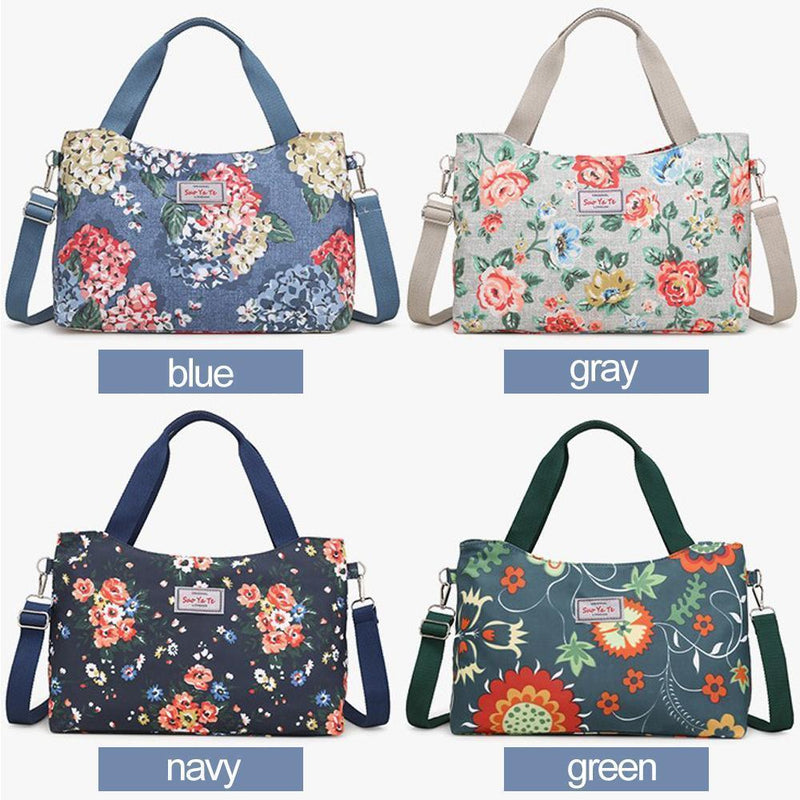 Floral Printing Large Capacity Shoulder Bag