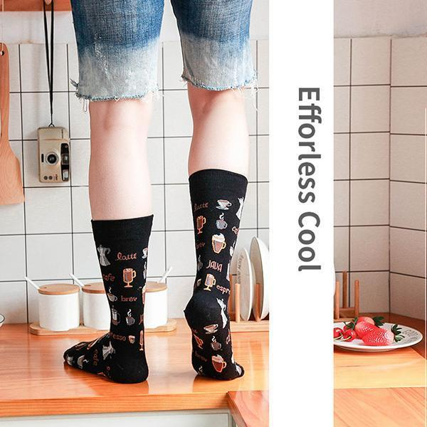 Classic Women/Men Personality Painting Socks (2 PCS)