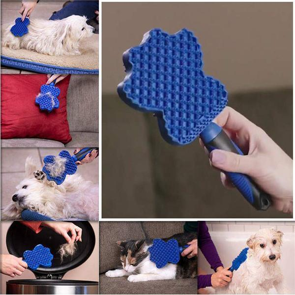 Pet Hair Remover Brush Gentle Pet Grooming Brush