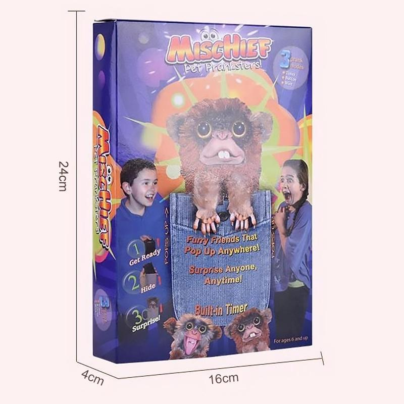 【Hot sales】Pet Monkey Pranksters Toys