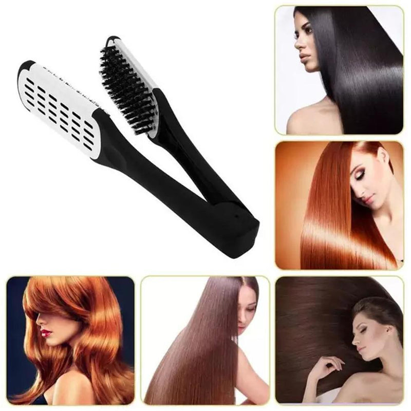 Double Sided Hair Straightening Comb