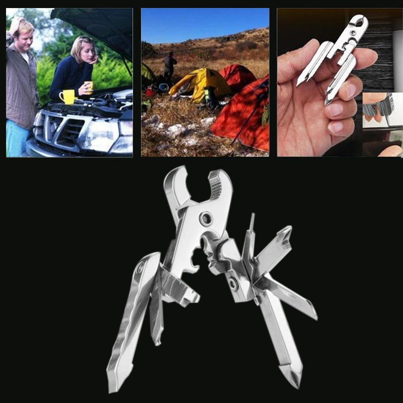 Hirundo 15-in-1 Stainless Steel EDC Multitool