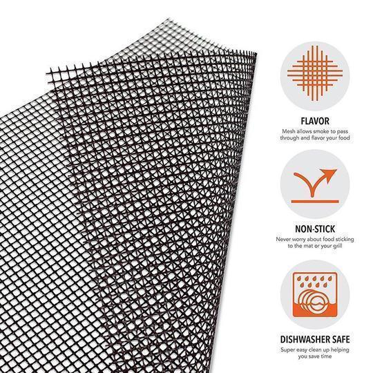 NON-STICK BBQ GRILL MESH MAT ecocong