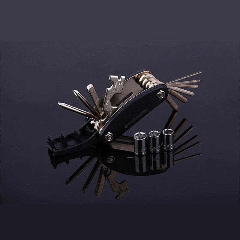 Hirundo 16-in-1 Chrome Plating EDC Multitool