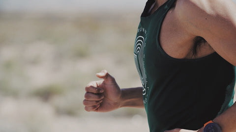 Ring of Runners Singlet, Green