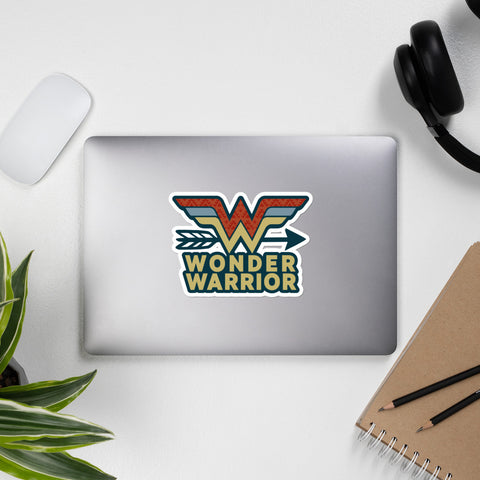 Wonder Warrior Bubble-free stickers