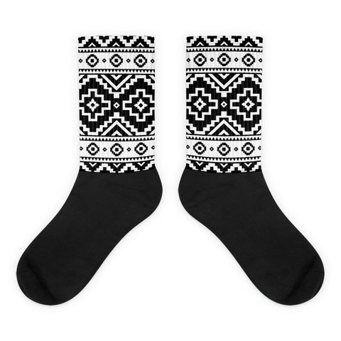 Native Pattern Socks