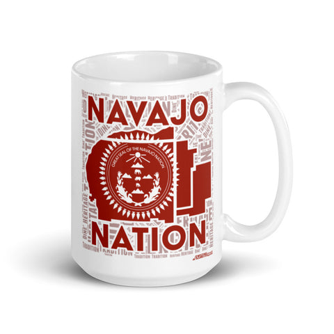 Navajo Nation Red 15 oz. Mug
