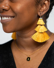 Golden Hour Layered Earrings