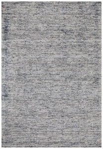 Lykke Hand Loomed Cotton Rug in Indigo