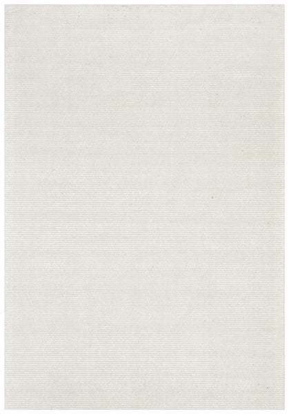 Lykke Hand Loomed Rug in Natural Ivory