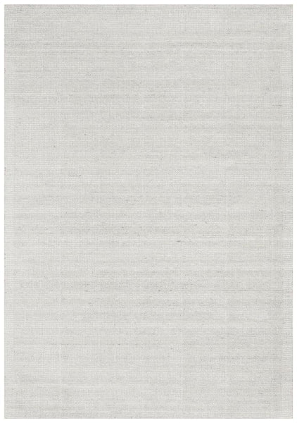 Lykke Hand Loomed Cotton Rug in Sky