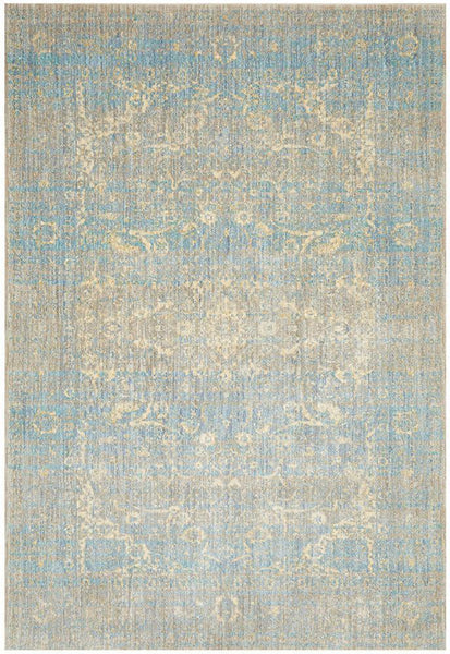 Sasha Abrash Transitional Rug in Mist