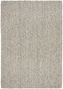 Alskar Hand Loomed Wool & Jute Rug in Grey