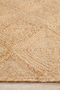 Bells Hatch Natural Jute Rug
