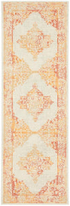 Manhattan Sunset Vintage Pattern Runner Rug