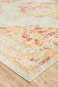 The Manhattan Sunset Vintage Pattern Rug