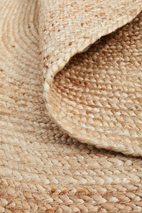 Byron Natural Jute Oval Rug