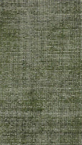 Aura Luxury Ribbed Hand Knotted Rug in Forest Green