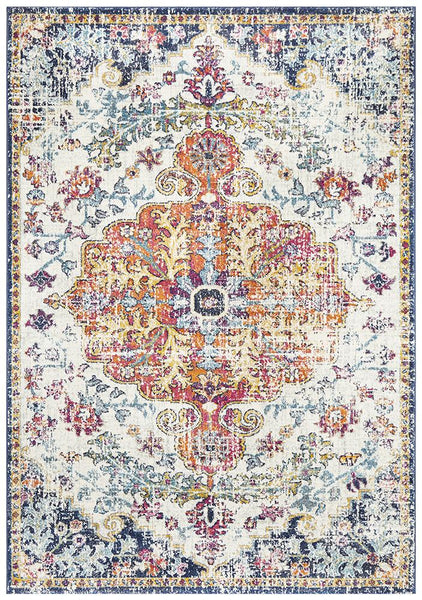 Lakshmi Multi Coloured Transitional Rug