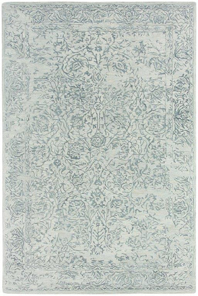 Bahama Classic Hand-Tufted Wool Rug in Sky