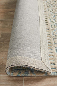 Avignon Lucy Transitional Rug in Sea Foam and Cream