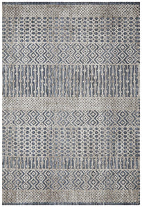 Avignon Alina Transitional Rug in Blue and Grey