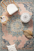 Manhattan Blush Vintage Pattern Rug