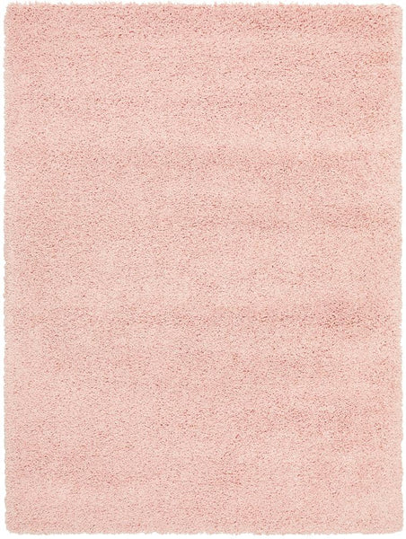 Alaska Plush Rug in Soft Pink