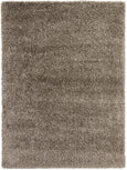 Alaska Plush Rug in Natural Brown