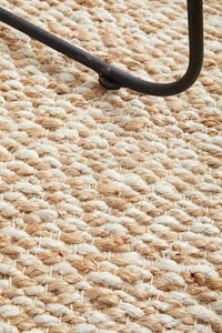 Brunswick Diamond Pattern Jute Runner Rug