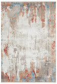Roya Bamboo Silk Blended Rug in Pastel