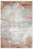 Azar Bamboo Silk Blended Rug in Fire and Water