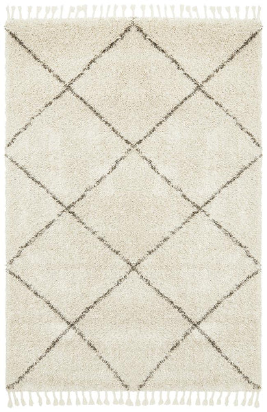Amira Moroccan Rug in Natural
