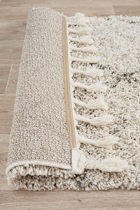 Atlas Moroccan Runner Rug in Natural