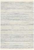 Serena Flatwoven Blue and Cream Rug