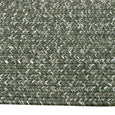 Laguna Indoor/Outdoor Hand Woven Herringbone Rug in Khaki