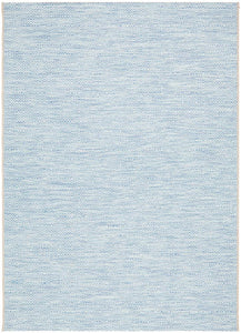 Corsica Blue Diamond Pattern Indoor Outdoor Rug