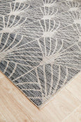 Crete Charcoal Indoor Outdoor Rug