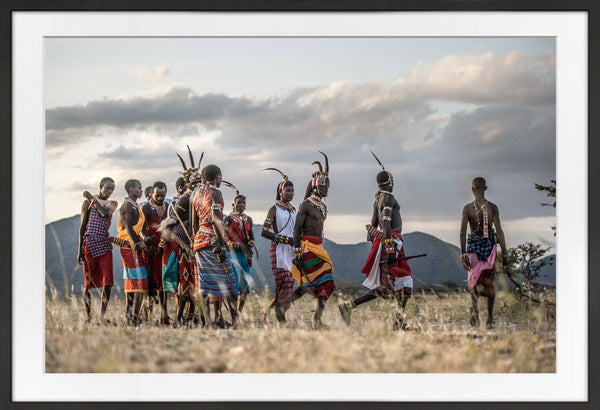 Dance of the Warriors Prints Prints for Conservation